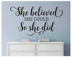Girls Bedroom Wall Quotes Teen Wall Decal Etsy