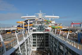 Royal Caribbean Harmony Of The Seas by Harmony Of The Seas Water Slides Casinos Robot Bartenders