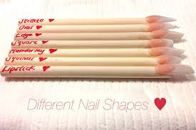 how to different nail shapes youtube