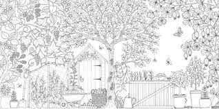 secret garden colouring book postcards color and explore with secret garden an inky treasure hunt and