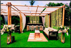 garden wedding reception decoration ideas back yard decor unique diy features to beautify your garden