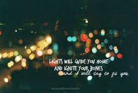 image quotes lights via on we it