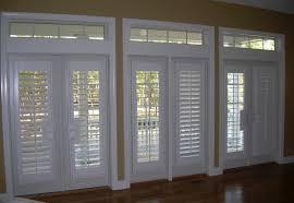 plantation shutters designed for doors and sidelights u2014 heritage