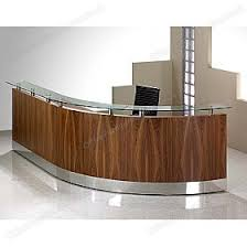 Bespoke Reception Desk Sven Fulcrum Veneer Professional Bespoke Reception Modular