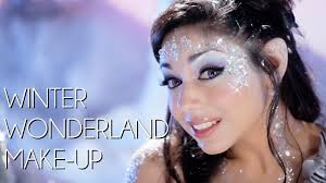 winter wonderland makeup tutorial youtube