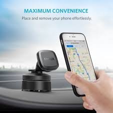 amazon com anker dashboard magnetic car mount phone holder for