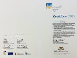 Plz Bad Saulgau Zertifizierung Unlingen