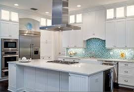 Recycled Glass Backsplash by Recycled Glass Concrete Kitchen Tropical With Backsplash Single Ovens