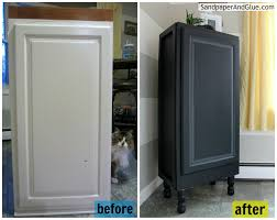Kitchen Cabinets Redone by Upcycled Kitchen Cabinet U2013 A Furniture Repurpose Stephanie