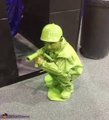 Toy Soldier Halloween Costume Size Plastic Army Man Halloween Costume Photo 2 2
