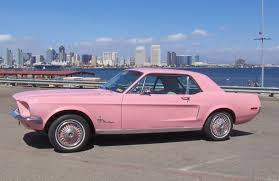 a pink mustang pink pink 1968 ford mustang color of the month