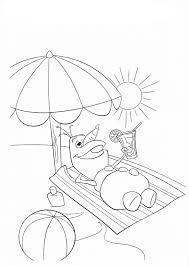disney summer coloring pages getcoloringpages com