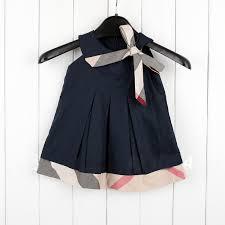 wholesale girls dresses new designer cotton 2015 summer plaid baby