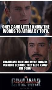 Africa Meme - meme creator only z and little know the words to africa by toto