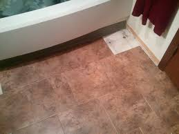 peel and stick floor tiles in bathroom
