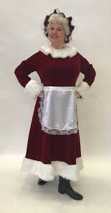 deluxe mrs claus dress