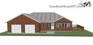 one story house free house plan an easy going one story ranch grandmas house diy