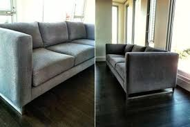 sofas with metal legs custom modern couch with metal legs perch furniture