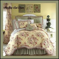 Ideas For Toile Quilt Design Gorgeous Design Ideas For Toile Bedding Country Sets