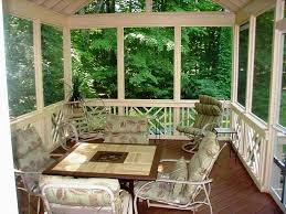 Screened In Patio Designs Planning Ideas Divider Rail Decorative Of Screened In Porch