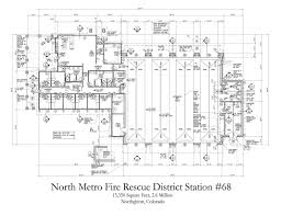 Fire Station Floor Plans Projects Fire Stations
