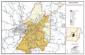 Tennessee Map Of Cities by Commission District Maps U2013 Official Site Of Henry County Tn
