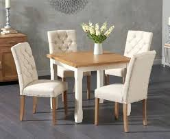 Oak Dining Table And Fabric Chairs Kitchen Chairs Uk Thegoodcheer Co