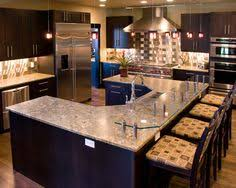 Dream Kitchen Designs A Large Center Island Provides The Perfect Spot To Eat In This