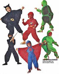 Kids Ninja Halloween Costume Mccall U0027s 5599 Boys U0027 Superhero Costumes Ninja Turtle Flash Batman