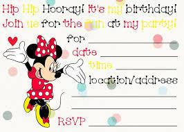 Free Printable Minnie Mouse Invitation Template by Minnie Mouse Invitation Template Cyberuse