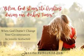 themes in god are not to blame when god doesn t change your circumstances jennifer rothschild