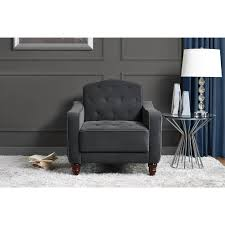 Black Chair With Ottoman Furniture Gorgeous Walmart Living Room Chairs With Magnificent