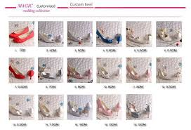 wedding shoes chagne order charge fees for shoes custom made service change heel