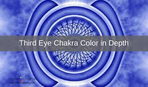 seeing flashes of light spiritual third eye chakra color meanings