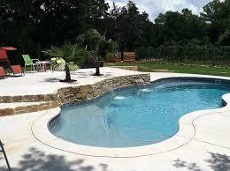new great lakes in ground fiberglass pool by san juan 83 best fiberglass pools images on courtyard pool