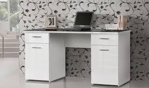 H Enverstellbare Schreibtische Schreibtisch Weiß Hochglanz Glas Saigonford Info