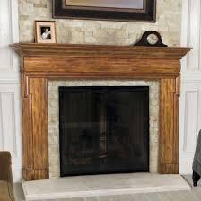 uncategorized awesome double mantle fireplace fireplace