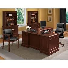 l shaped desk with hutch left return hon executive l shape workstation atwork office furniture