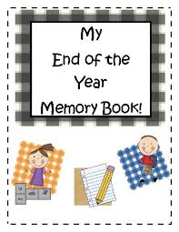 7 best images of memory book for students printables end of year