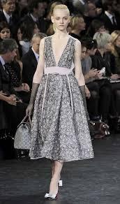louis vuitton print wool chiffon v neck dress clothes fashion
