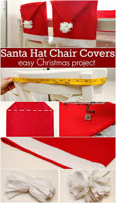 christmas chair covers santa hat chair covers inspiration hoosier