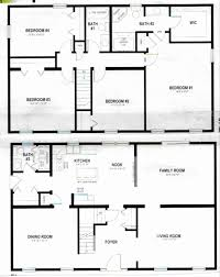 floor plans for two story homes two story house floor plans unique simple two story house modern