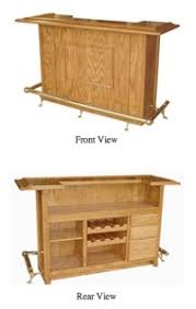 free bar blueprints easy diy woodworking projects step by step