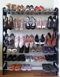 amazon com oxgord 50 pair shoe rack storage organizer 10 tier
