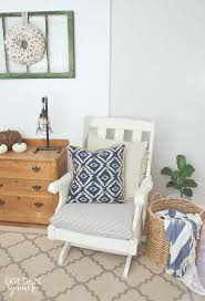 vintage ethan allen chair makeover the golden sycamore