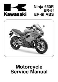 2009 kawasaki er 6 f ex650c9f d9f service manual