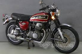 sold honda cb750 4 k2 motorcycle auctions lot 22 shannons