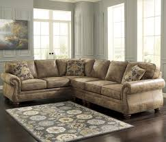 Marlo Furniture Rockville Maryland by Signature Design By Ashley Larkinhurst Earth Roll Arm Sectional