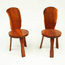 Yew Side Table Pair Of 1950s Yew Wood British Reynolds Of Ludlow Chairs Like