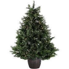 fraser hill farm 5 u0027 northern cedar teardrop artificial christmas
